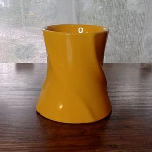 Dark Yellow Vase